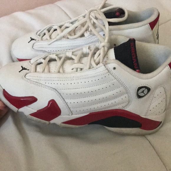 info for 39fb2 427db Red & white 14s